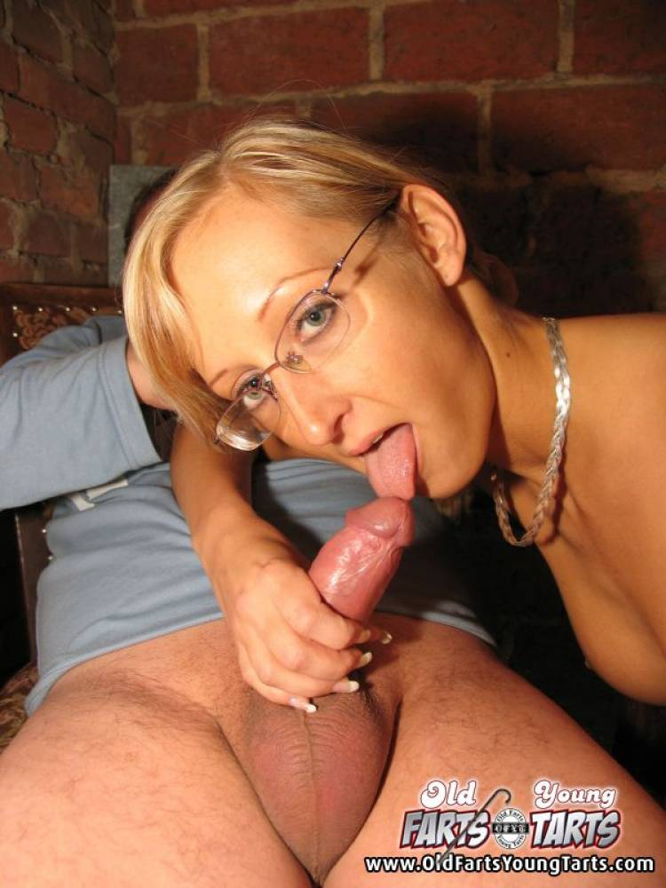 Horny chick loves a cum shower 2